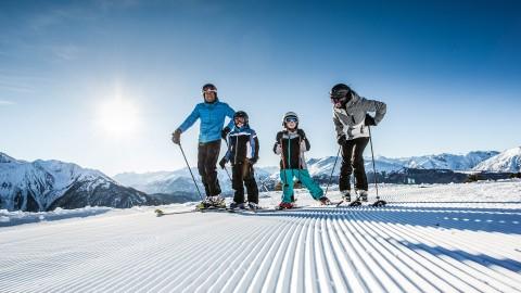 slopes Hochzeiger ski resort