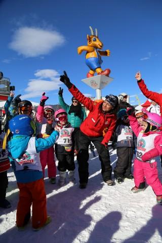 Kostenloser Skikurs in Pitzis Kinderland