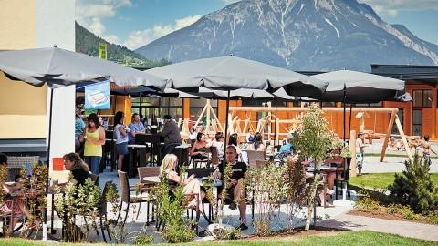 Pitz Park Restaurant: Sonnenterrasse