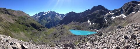 Von Trenkwald aus erreichbar: Der einsame Mittelberglesee im Pitztal, Tirol