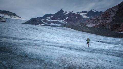 Ein Highlight des Pitztal Trails: Die Überquerung des Pitztaler Gletschers