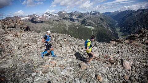Trail Running im Pitztal über die Mittagskogelscharte