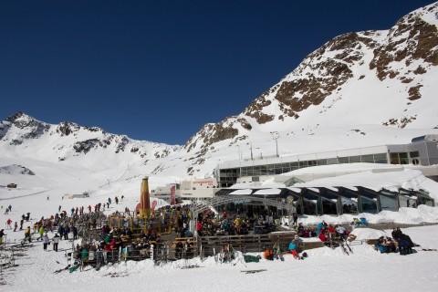Gletscherrestaurant Kristall am Pitztaler Gletscher