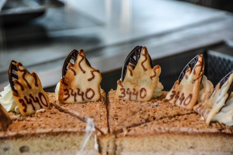 Tirol's Highest Pastry Shop at Pitztal Glacier
