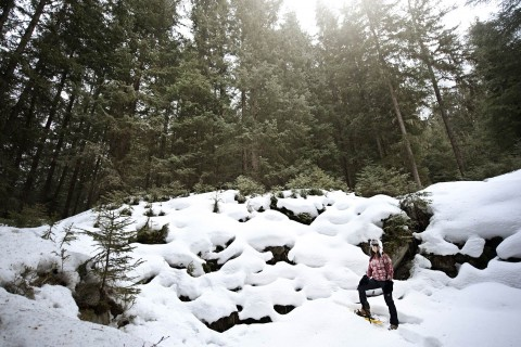 Schneeschuhwandern im Pitztal, Tirol