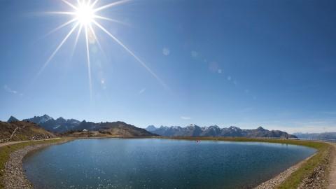 Landscape pond at Sechszeiger, 2,370 m