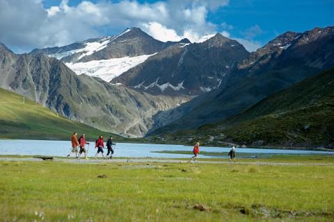 Wandern mit der gesamten Familie im Gletscherpark