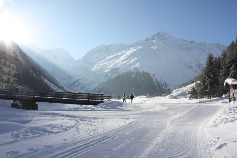 Sklassich and skating track in Pitztal