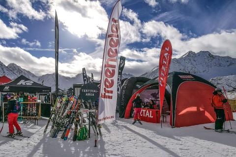 Ski & Show am Pitztaler Gletscher