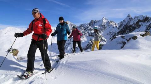 Schneeschuhtour Hochzeiger