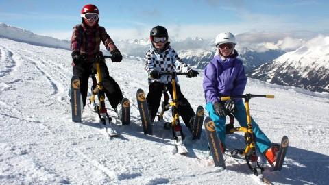 Snowbiken Hochzeiger Pitztal