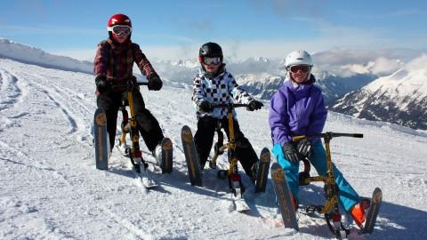 Snowbike Hochzeiger Pitztal