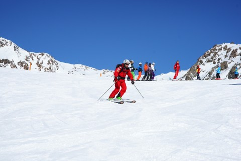 Superb Skiing at Pitztal Glacier