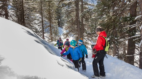 Winter hiking Hochzeiger Pitztal