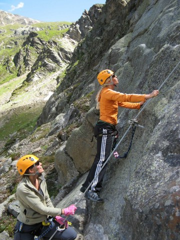 Climbing area near Pitztal Glacier