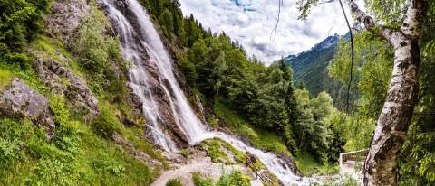 Stuibenwasserfall in Jerzens Schön