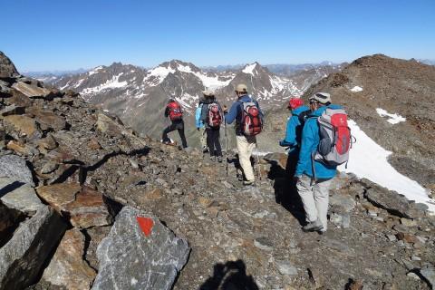 Pitztaler Gletschersteig - Taschachgeltscher