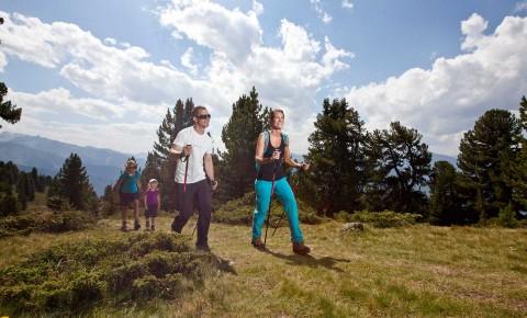 Strecken für Nordic Walking