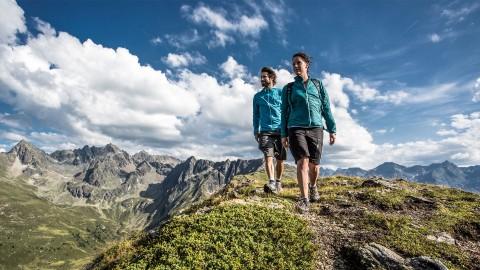 Hiking at Hochzeiger