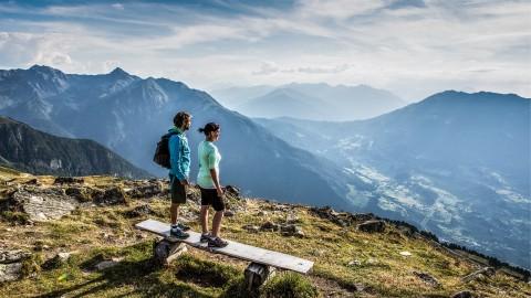 Hochzeiger hiking area Pitztal