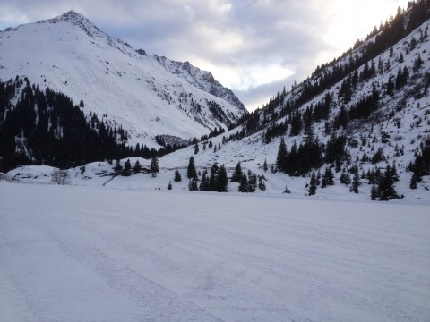 Alpine winter driving experience in Pitztal