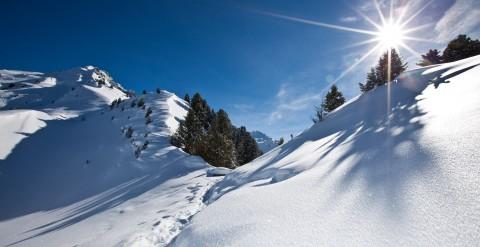 Winterwandern am Hochzeiger