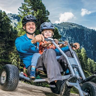 ZirbenCarts: Mountaincart Spaß am Hochzeiger