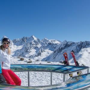 Eindrucksvolles 360 Grad Bergpanorama am Hochzeiger