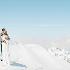 Hochzeit auf 3440 Meter am Pitztaler Gletscher