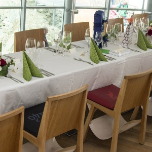 Hochzeit im Café 3.440 am Pitztaler Gletscher