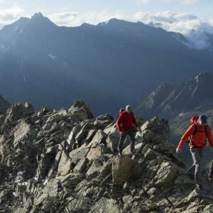 Kaunergrat Circular route 7 days Parstleswand