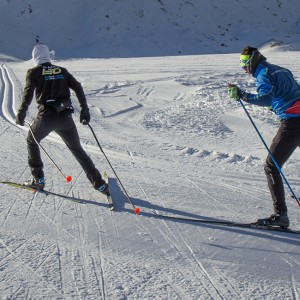 Cross-country Ski Center at Pitztal Glacier - 2650 masl