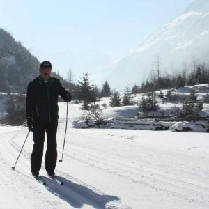 Cross country skiing in Pitztal