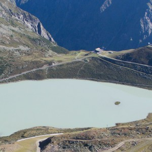 Rifflsee - High Alpine Lake in Tirol's Pitztal
