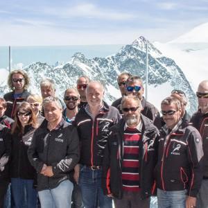 Das Team der Pitztaler Gletscherbahn
