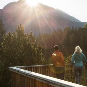 Blick ins Pillermoor im Naturpark Kaunergrat