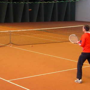 Indoor tennis centre at Pitz Park Wenns
