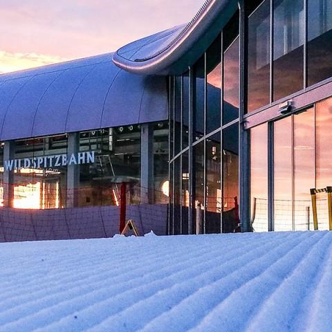 Skisaisonstart am Pitztaler Gletscher in Tirol