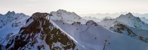 Übersicht über alle Lifte und Bahnen im Skigebiet Pitztaler Gletscher & Rifflsee