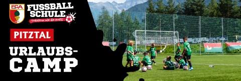 Feriencamp der Fussballschule FC Augsburg im Pitztal