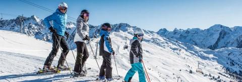 Familien Winterurlaub im Pitztal, Tirol