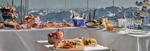 Tirols höchstes Frühstück im Winter
