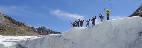 Gletschertag am Pitztaler Gletscher