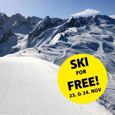 Hochzeiger Skigebiet Pre-opening