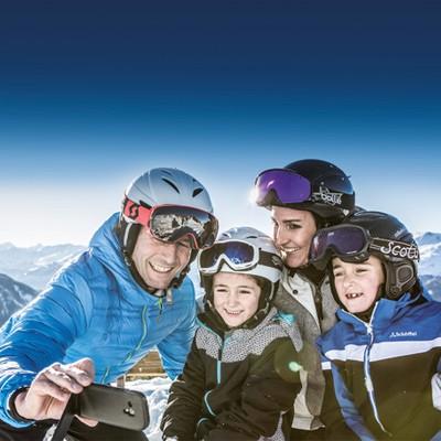 Hochzeiger Familien Skigebiet