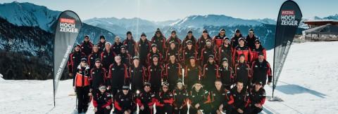 Das Team der Hochzeiger Bergbahnen