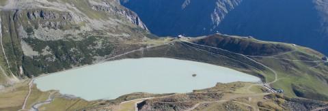 Bergsee und Wandergebiet in Tirol