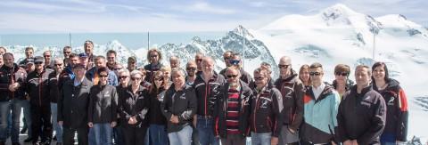 Die vielen fleissigen Hände vom Pitztaler Gletscher und Rifflsee