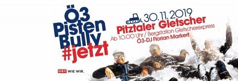 Ö3-PistenBully am Pitztaler Gletscher