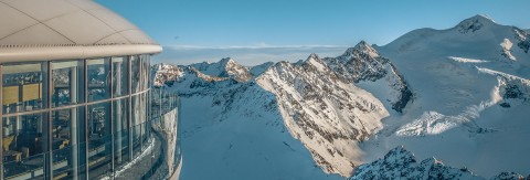 Pitztaler Gletscher mit Café 3.440